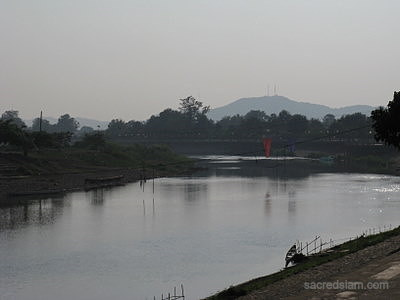 Nan river at dusk