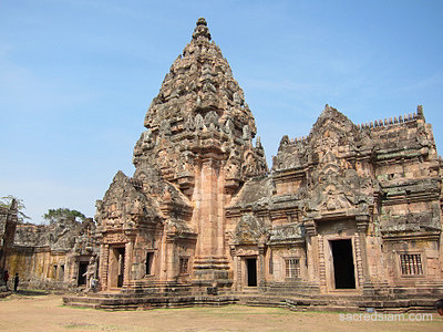 Phanom Rung Historical Park Buriram prang sanctuary
