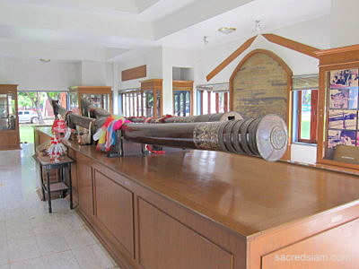 Uttaradit Largest nampee steel sword in Thailand