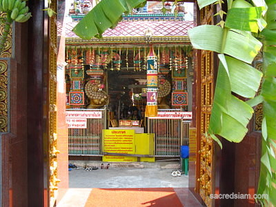 Sri Maha Mariamman Temple (Wat Khaek) entrance