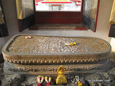Buddha footprint at Wat Arun