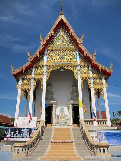 Wat bang khae noi amphawa samut songkhram thailand