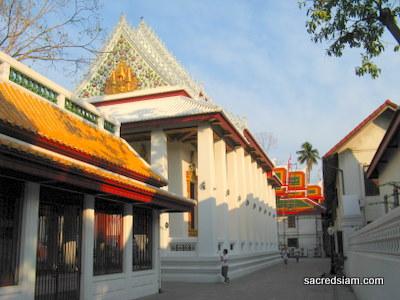 Wat Bowonniwet Vihara - Bangkok, Thailand