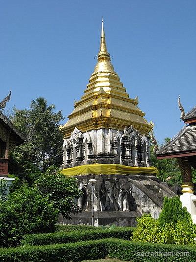 Wat Chiang Man - Chiang Mai, Thailand