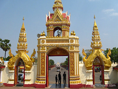 Wat Phra That Phanom main gate