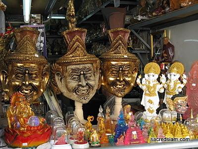 Buddha Amulets Bangkok images