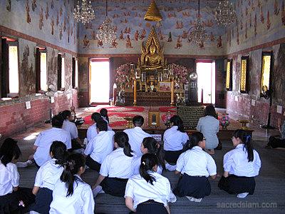 Wat Suwan Dararam (or Suwandararam) - Ayutthaya, Thailand