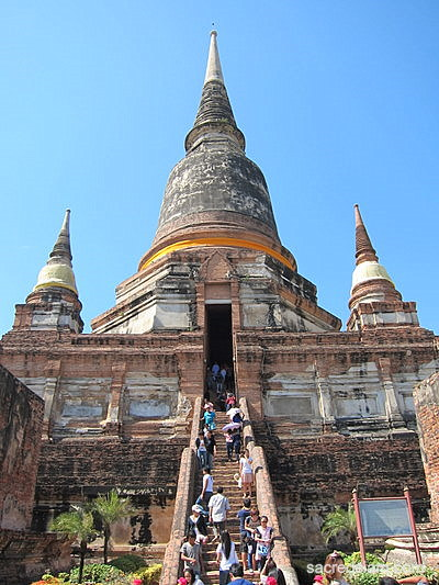 Wat Yai Chai Mongkhon - Ayutthaya, Thailand